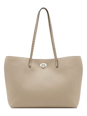 Fendi carla east-west leather tote