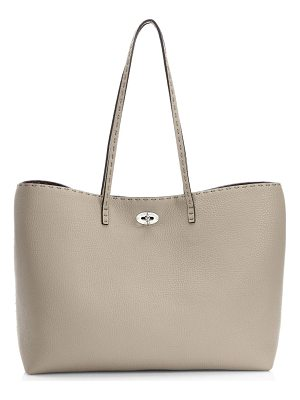 Fendi carla selleria leather tote