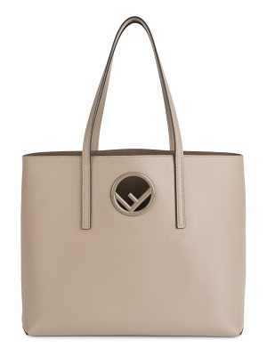 Fendi classic leather shopper