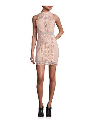Free People skyscraper crochet inset mini dress
