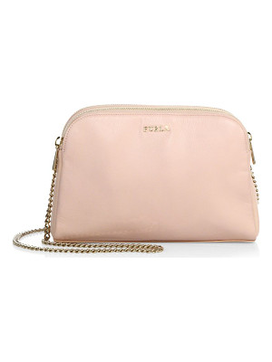 FURLA Capriccio Xl Leather Crossbody Pouch