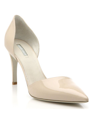 GIORGIO ARMANI Patent Leather D'Orsay Pumps