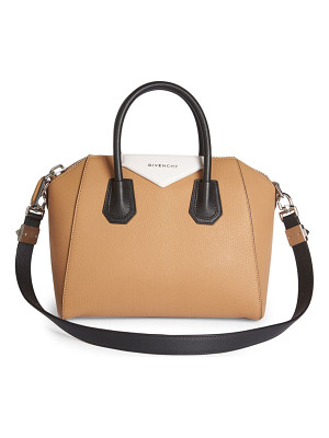 GIVENCHY Antigona Small Tri-Tone Leather Satchel