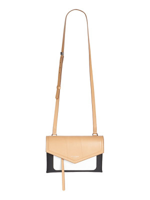 GIVENCHY Duetto Tri-Tone Leather Crossbody Bag