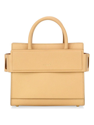 GIVENCHY Horizon Mini Grained Leather Satchel