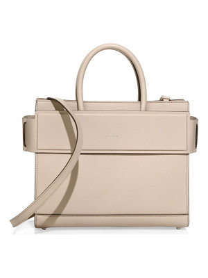 Givenchy horizon small leather tote