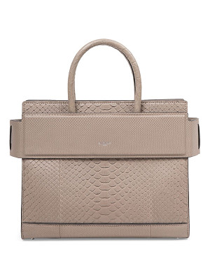 GIVENCHY Horizon Small Python Satchel