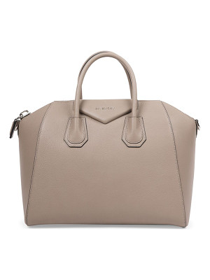 Givenchy antigona medium leather satchel