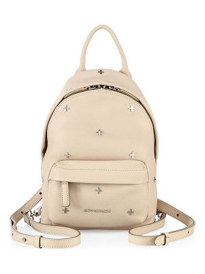 GIVENCHY Nano Cross-Studded Leather Backpack