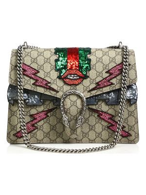 GUCCI Dionysus Gg Supreme Embroidered Bag