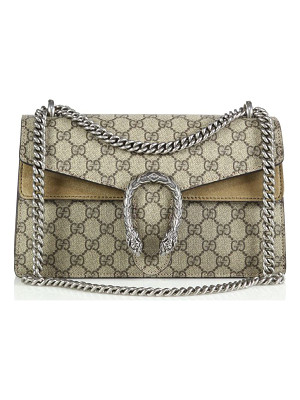 GUCCI Dionysus Gg Supreme Small Coated Canvas Shoulder Bag