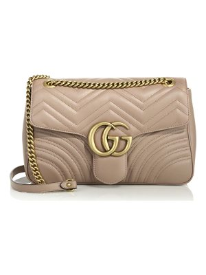 Gucci gg 2.0 medium quilted leather shoulder bag
