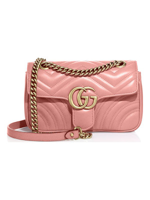 GUCCI Gg 2.0 Mini Quilted Leather Shoulder Bag