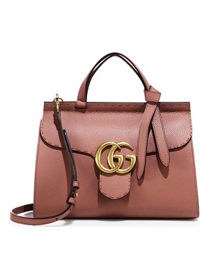 GUCCI Gg Marmont Leather Top-Handle Bag