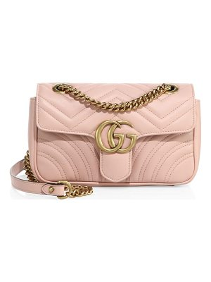 GUCCI Mini Gg Marmont Matelasse Shoulder Bag