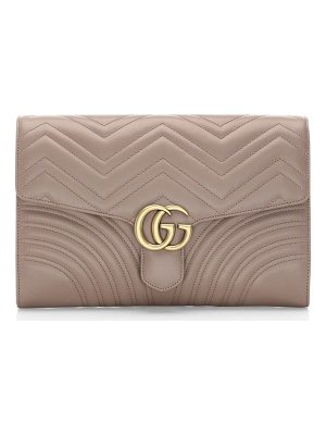 GUCCI Leather Clutch