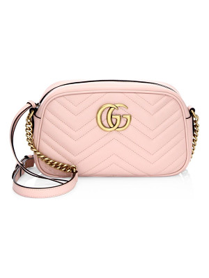 Gucci leather crossbody bag