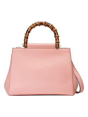 Gucci nymphea leather top-handle bag