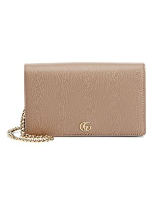 GUCCI Petite Marmont Wallet On Chain