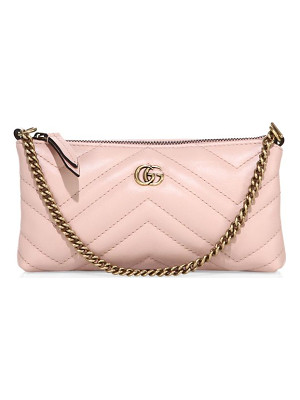 GUCCI Quilted Leather Wristlet