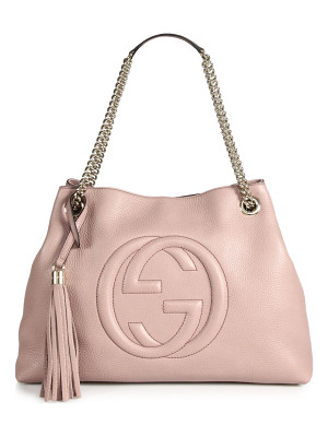 GUCCI Soho Medium Leather Shoulder Bag