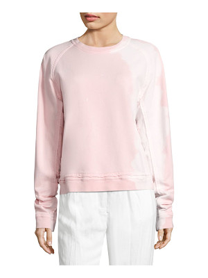 Haider Ackermann cotton long sleeve sweatshirt