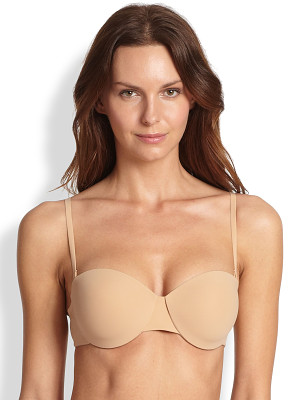 Hanro allure convertible strapless t-shirt bra