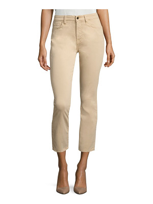 Jen7 brushed sateen ankle skinny jeans