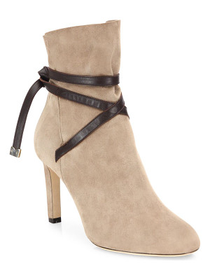 Jimmy Choo dalal 85 suede & leather booties