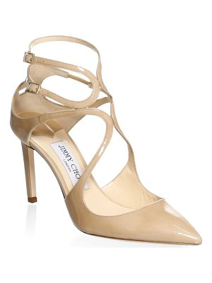 JIMMY CHOO Lancer Ankle-Strap Pumps