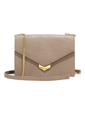 JIMMY CHOO Leila Mini Leather Crossbody Bag