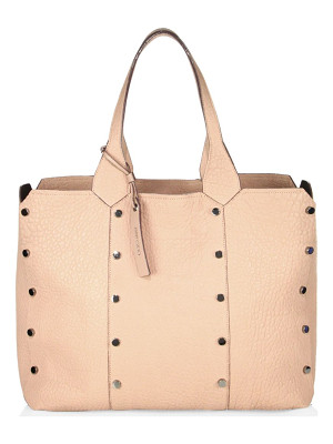 JIMMY CHOO Lockett Lamb Leather Shopper