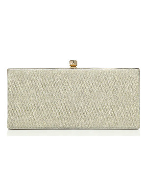Jimmy Choo celeste oversized lame glitter clutch