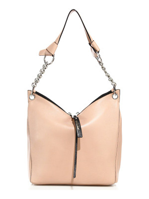 JIMMY CHOO Raven Small Leather Shoulder Bag
