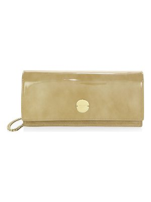 Jimmy Choo raw edge clutch