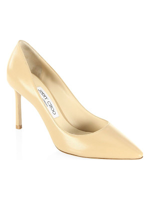 Jimmy Choo romy leather point toe pumps