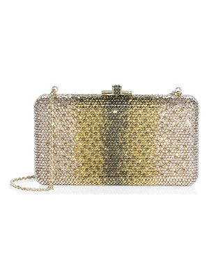 JUDITH LEIBER COUTURE Airstream Ombre Swarovski Crystal Clutch