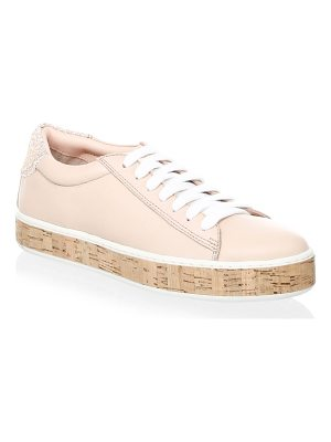 KATE SPADE NEW YORK Amy Leather Platform Sneakers