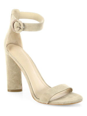 KENDALL + KYLIE Giselle Suede Ankle-Strap Sandals
