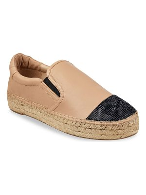 KENDALL + KYLIE joss leather espadrilles