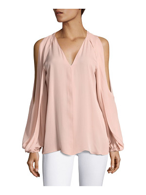 KOBI HALPERIN cold shoulder long sleeve blouse