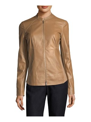 LAFAYETTE 148 NEW YORK Embla Leather Jacket