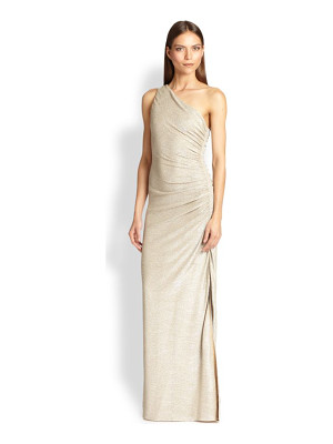 LAUNDRY BY SHELLI SEGAL One-Shoulder Gown