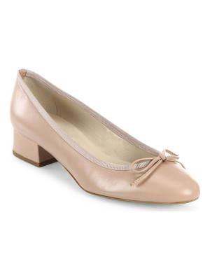 L.K. BENNETT Danielle Leather Ballet Pumps