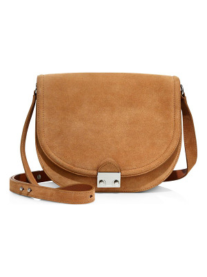 LOEFFLER RANDALL Large Suede Saddle Bag