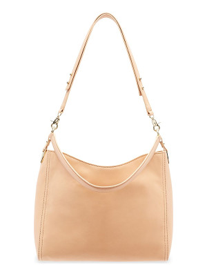 LOEFFLER RANDALL Leather Crossbody Hobo Bag