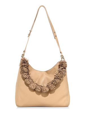 LOEFFLER RANDALL Mini Leather Hobo Bag