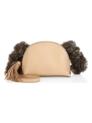 LOEFFLER RANDALL Vachetta Leather Crossbody Pouch