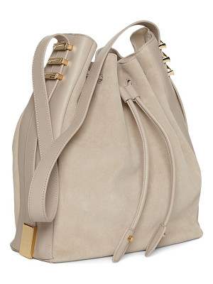 LUANA ITALY Cecilia Leather Bucket Bag