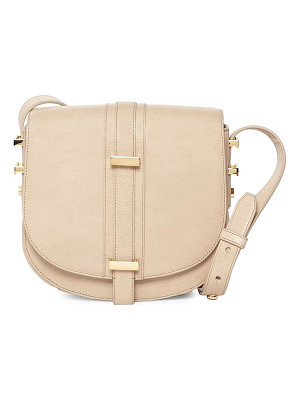 LUANA ITALY Mariane Crossbody Leather Saddle